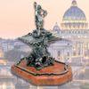 Fontana del Tritone a Piazza Barberini, Roma
